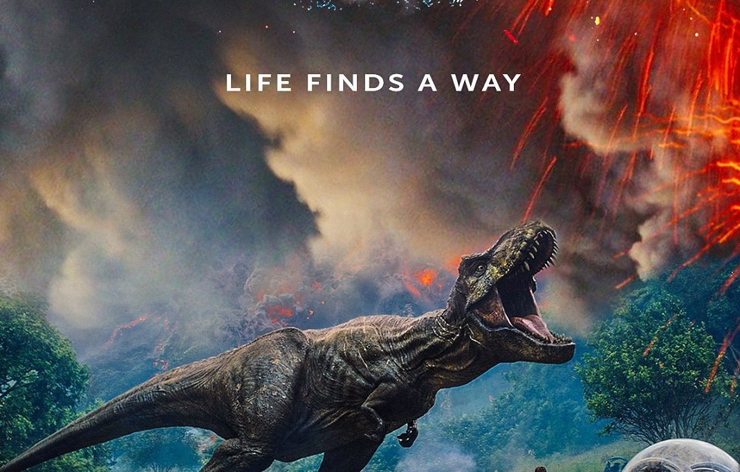jurassic world fallen kingdom review  this will cure