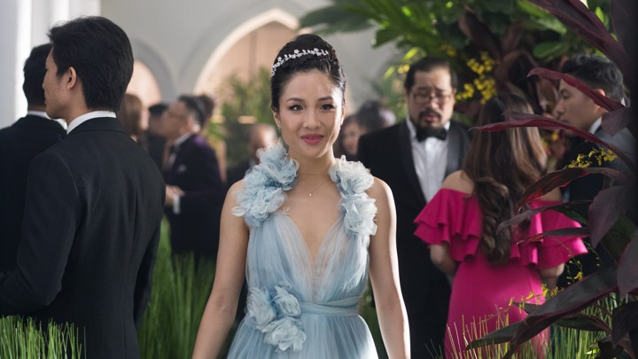 Rachel looking gorgeous, Crazy Rich Asians