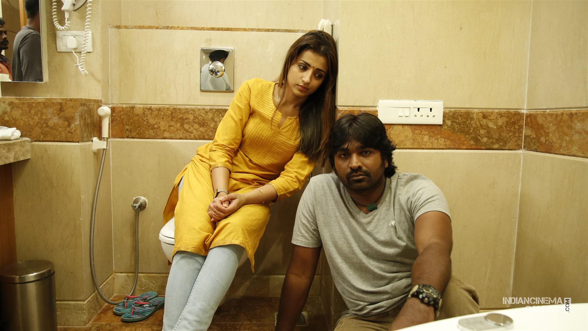 96 Trisha and Vijay Sethupathi