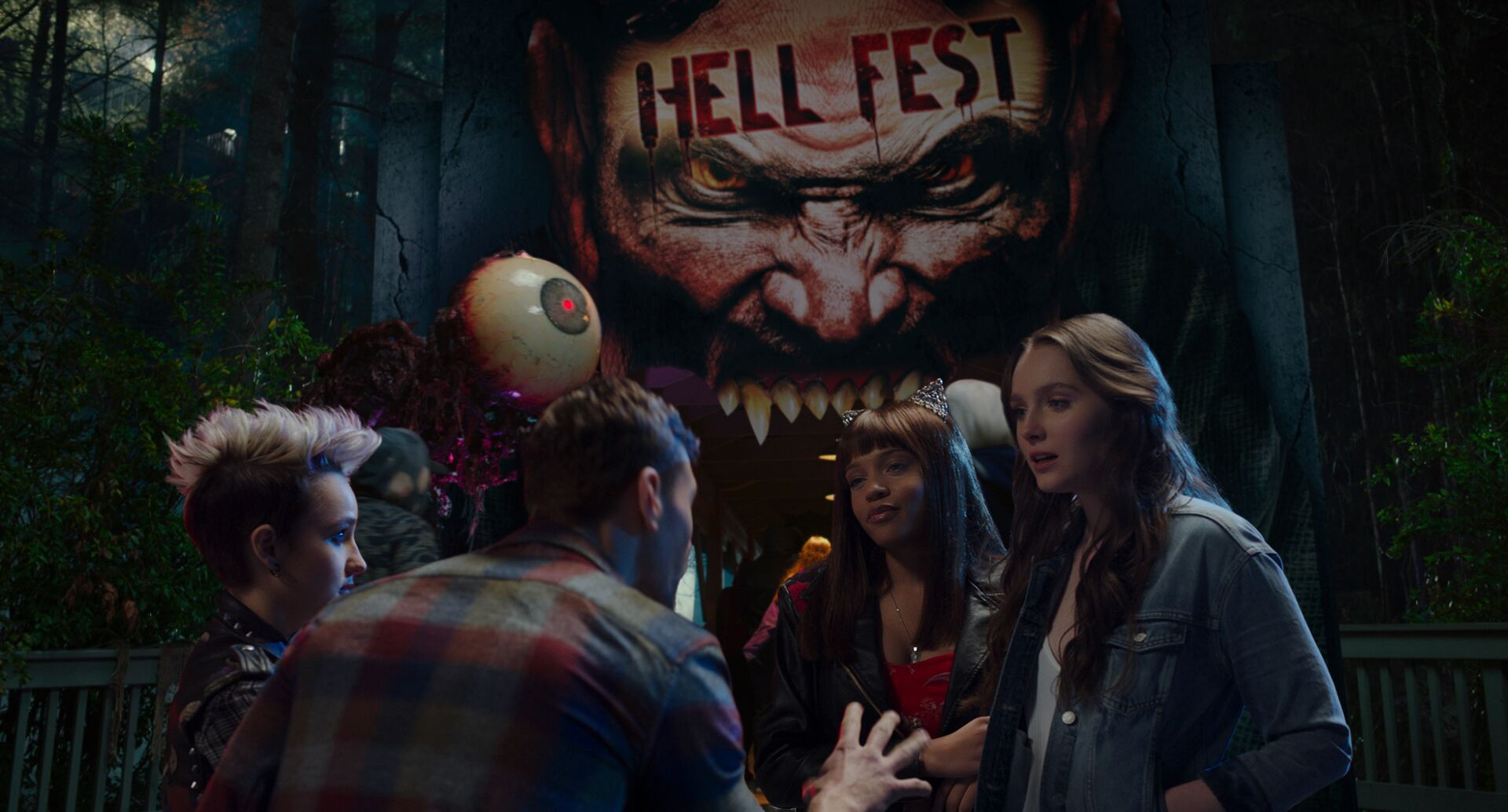 Hell Fest protagonists