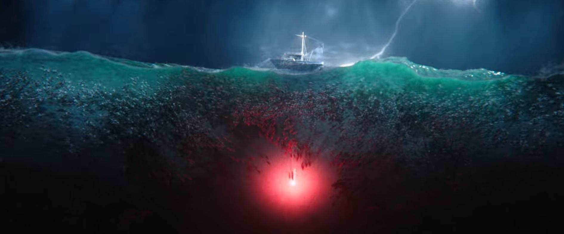 Aquaman flare