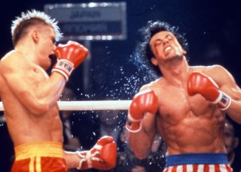 ROCKY IV (US1985) DOLPH LUNDGREN, SYLVESTER STALLONE PICTURE FORM THE RONALD GRANT ARCHIVE     Date: 1985