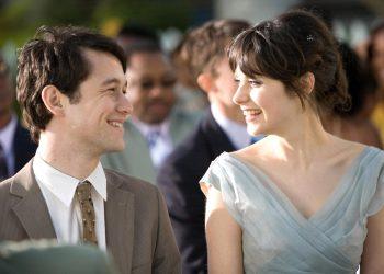 (500) Days of Summer (2009) Joseph Gordon Levitt and Zooey Deschanel CR: Chuck Zlotnick/Fox Searchlight