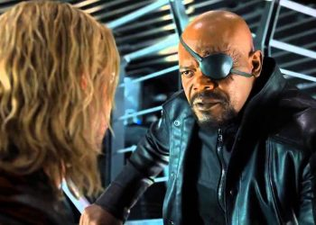 Nick Fury and Thor