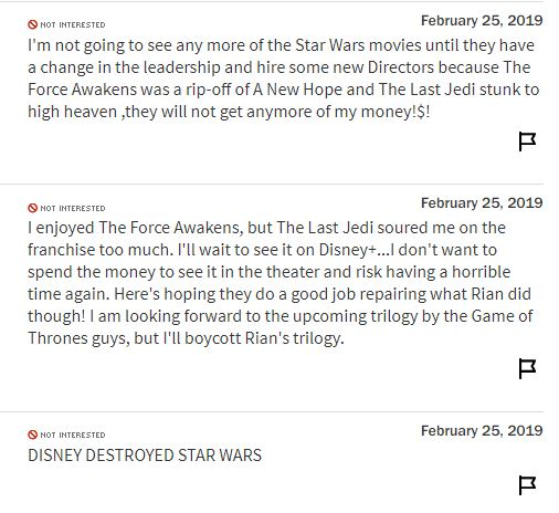 Star Wars 9 RT
