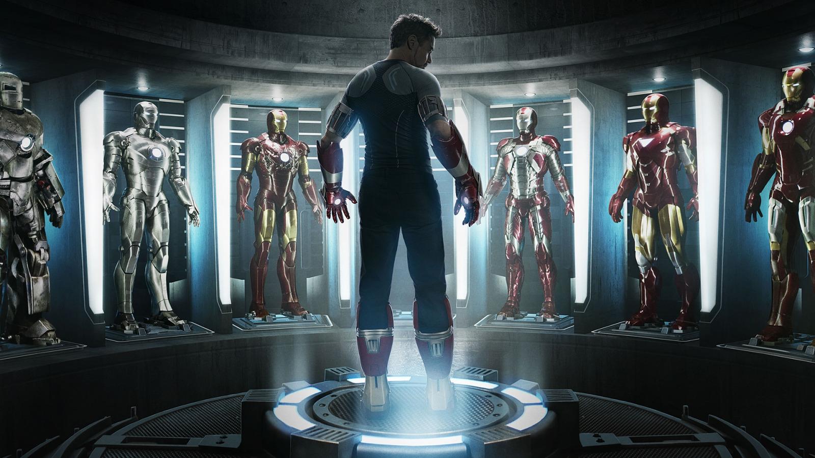 Unused Iron Man Concept Art